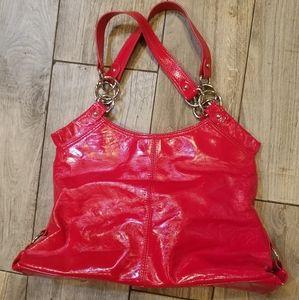 Nine West Glossy red handbag